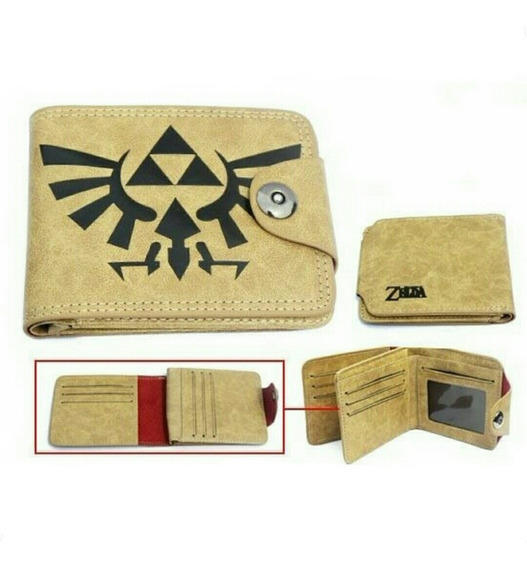 Zelda Cartera Piel The Legend Of Zelda Billetera Nintendo