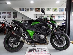 Kawasaki Z800 Verde 2013