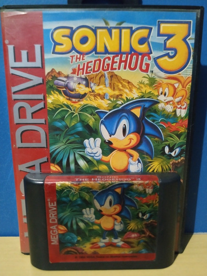Sonic 3 Original Mega Drive