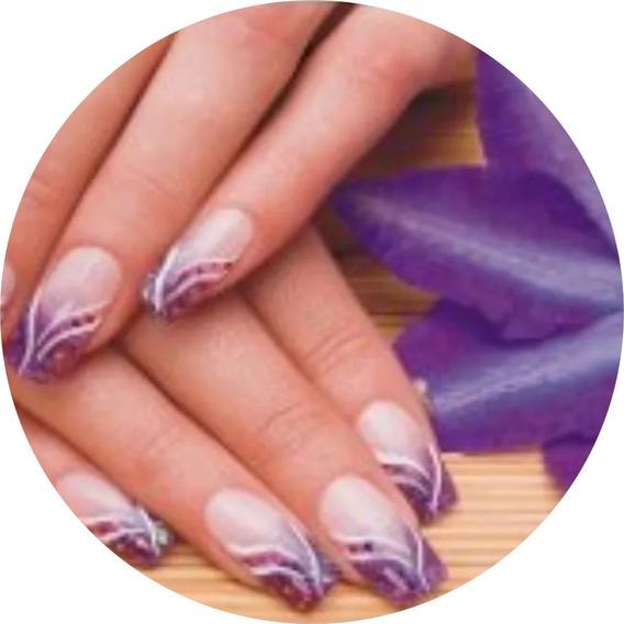 Painel Adesivo Decoração Unhas Manicure Estética Salão Linda