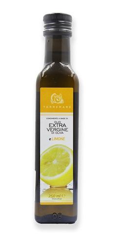 Imagen 1 de 1 de Aceite De Oliva Ensaladas Aromatizado Limon 250 Ml
