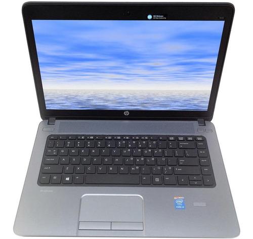 Imagem 1 de 7 de Notebook Hp 440 G1 Core I7 4ª Geração 8gb Ssd 120gb Wifi
