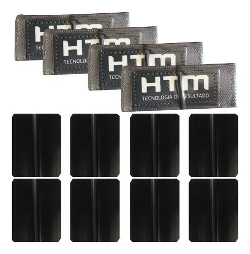 Cintas Elásticas E Eletrodos 7 X 5 Cm Para Estimulador - Kit