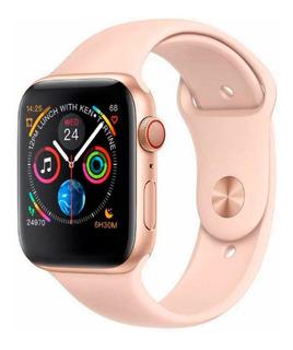 Relógio Smart Watch Iwo 10 Rose Duas Pulseiras Ios Andróide