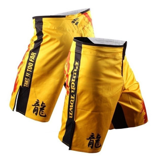Bermuda Punchtown Mma Short Muay Thai Stretch Ode To Dragon