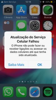 iPhone 7 256gb Sem Servico Defeito Sem Servico