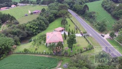 Chácara Com 2 Dormitórios À Venda, 5917 M² Por R$ 750.000 - Capão Alto - Lapa/pr - Ch0002