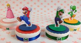 50 Mario Bros Recortes De 7,5cm Para Latinha 3d