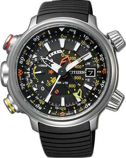 Relógio Citizen Masculino Eco Drive Altichron Bn4021-02e / T