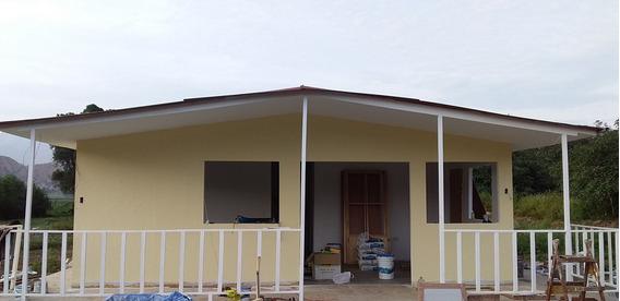 Casas Prefabricadas De Madera Y Drywall. Estructuras En Gral