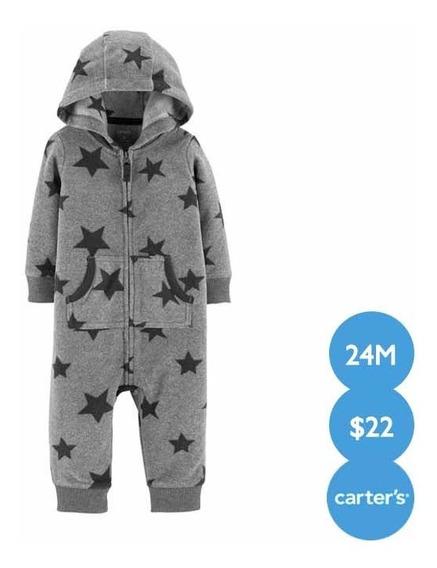 Pijama De Fleece Termica Carter´s Original Talla 24 Meses