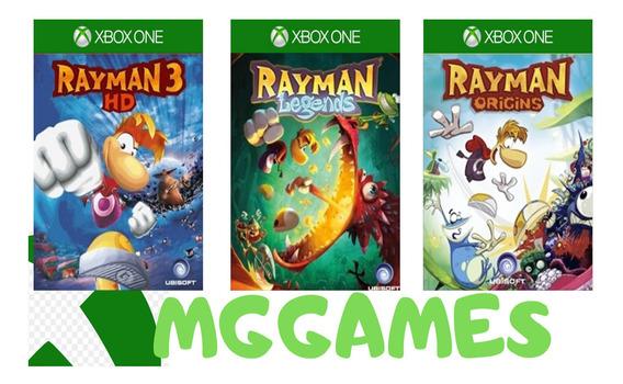 Rayman Trilogia Xbox One Midia Digital