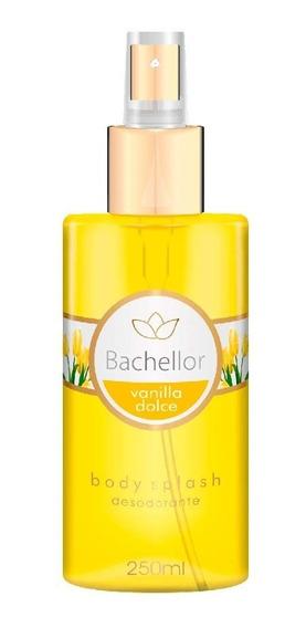 Body Splash Vanilla Dolce 250ml Bachellor - Body Splash Bachellor - Body Splash Vanilla - Promoção Bachellor