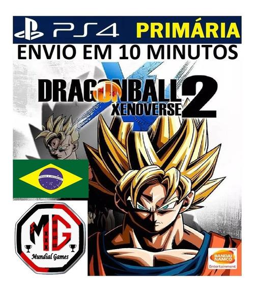 Dragon Ball Xenoverse 2 Ps4 - Original 1ª - Envio Agora