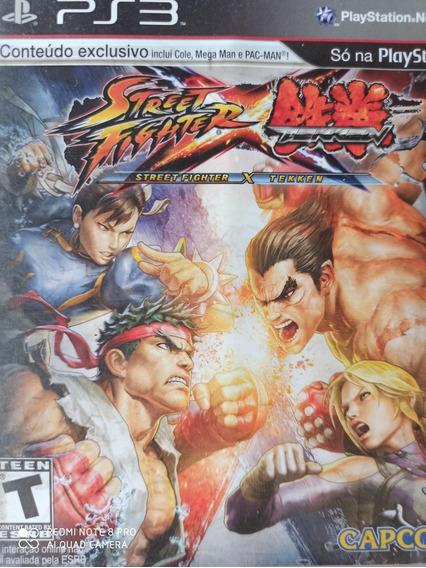 Street Fighter X Tekken Ps3 , Mídia Física ,a Pronta Entrega