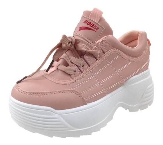 Zapatos Deportivos Boom Para Dama Rosados