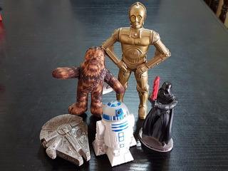 Star Wars 5 Figuras Coleccion 2005 Burger King