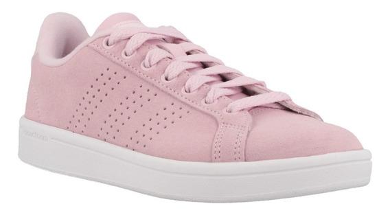 Zapatillas Mujer adidas Neo Cf Advantage Cl W Gamuza