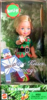 Barbie Kelly Muerdago Besa Tommy Doll And Tree Ornament (200