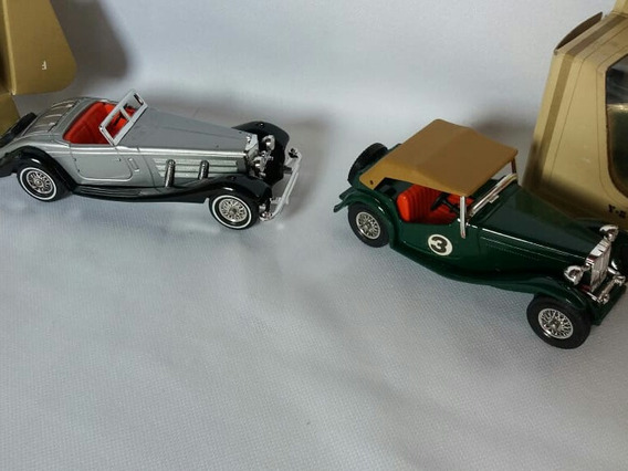 2 Matchabox Models Of Yesteryear Y-20 Mercedes E Y-8 Mg-tc