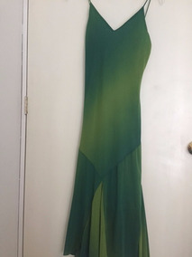 Vestido Graduacion Verde Talle M A Media Pierna