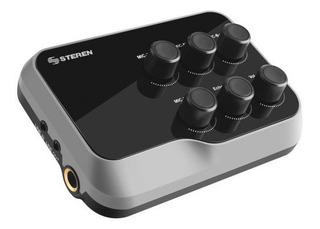 Mix-125 Mezcladora Bluetooth De 2 Canales Con Bat Recargable