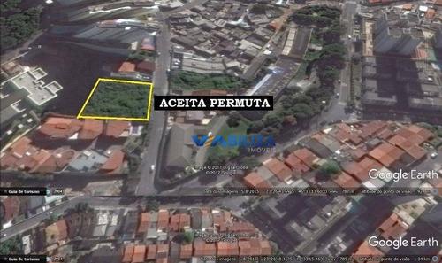 Terreno À Venda, 1600 M² Por R$ 3.500.000,00 - Vila Rosália - Guarulhos/sp - Te0032