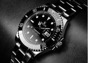 Relógio Rolex Oyster Perpetual Submarine Preto 40mm