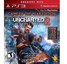 Jogo Uncharted 2 Among Thieves Ps3 Novo Lacrado