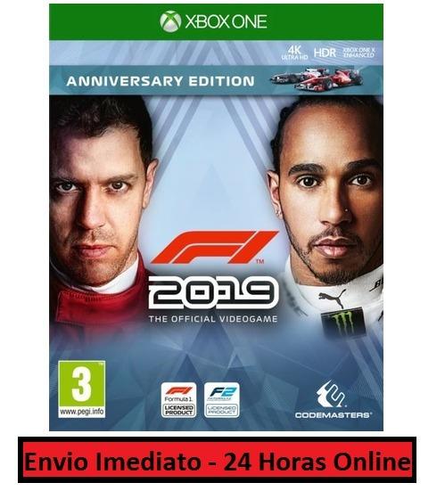F1 2019 Jogo + Todo Conteúdo Extra Xbox One Midia Digital