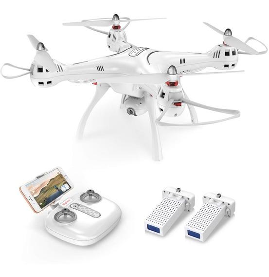 Drone Syma X8pro Gps Fpv Com 2 Baterias C/ Cartão De Memoria