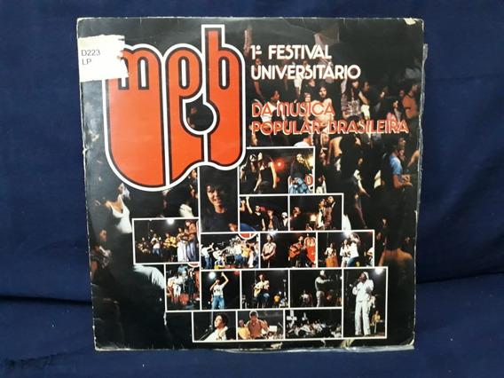 Lp 1° Festival Universitário Da Música Popular Brasileira.