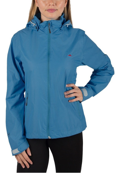 Rompeviento Mujer Jackie Con Red Montagne Impermeable Livian