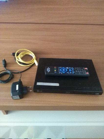 Blu Ray Dvd Player 3d Lg325 Com Acesso A Netflix