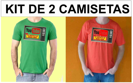 Camisetas Poliéster, Camisas Tv Youtube