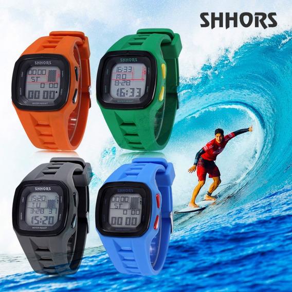 Relógio Digital Masculino Surf Natação Corrida - Shhors Ots