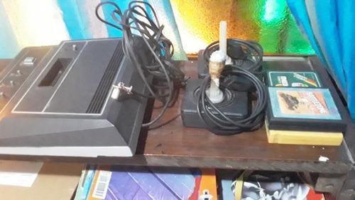 Consola Dynacom Años 80 Mas Joysticks Y 3 Cartuchos De Juego