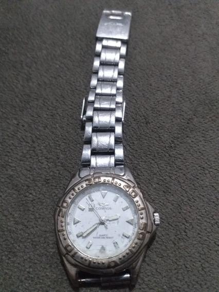 Relógio Feminino Quartz Cosmos Sem Bateria M510am Cs38561