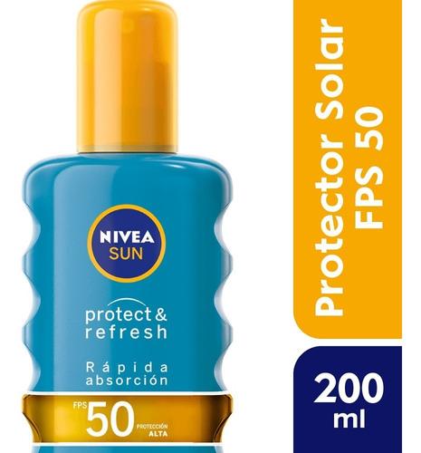 Nivea Sun Spray Protect & Refresh Fps 50