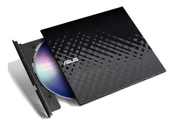Gravador Dvd Externo 8x Asus Sdrw-08d2s-u/blk/g/as