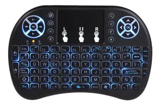 Keyboard Inalámbrico 2.4ghz Con Touchpad De Español