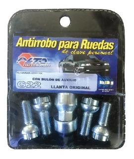 Tuerca Antirrobo C3/4/5-ds-206/7-306/7-3008 (d18)