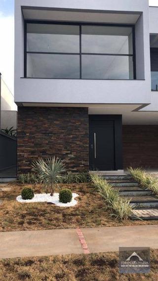 Sobrado Com 4 Dormitórios À Venda, 300 M² Por R$ 1.600.000 - Condomínio Residencial Giverny - Sorocaba/sp, Próximo Ao Shopping Iguatemi. - So0131