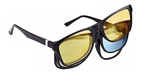 Gafas Magicas Intercambiables 3 En 1 Con Modo Noche Y Uv