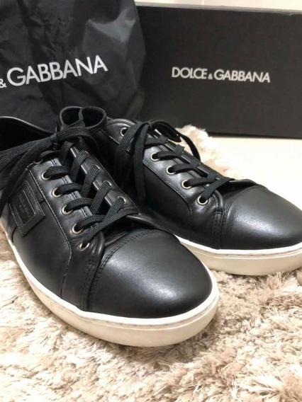 Tênis Preto Dolce & Gabbana 43/44