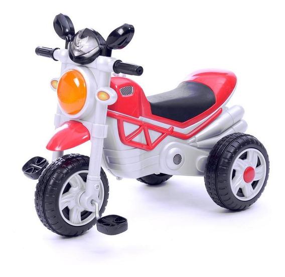 Triciclo Moto Trike Rojo