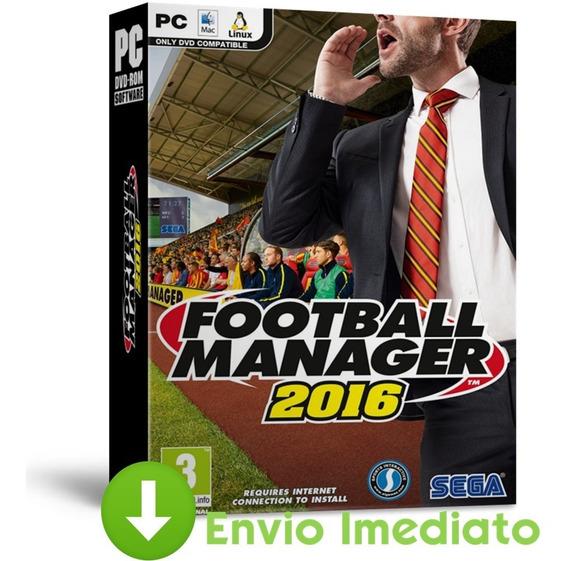 Football Manager 2016 Pc Simulador Português Envio Agora