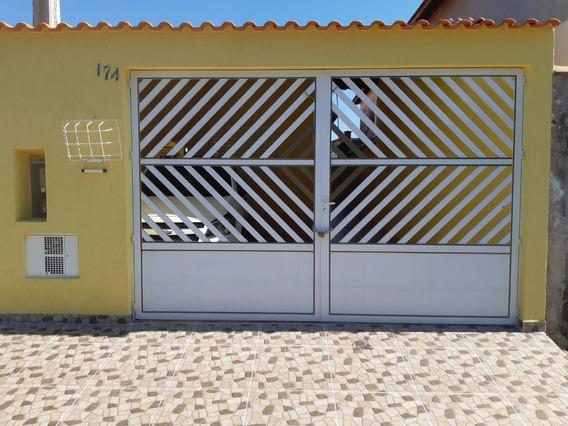 Casa Nova Geminada Em Mongaguá!! Ref. Ca0362 L