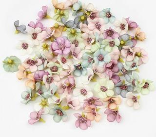 50 Flores Artificiales Margarita Decoración Flor Mini Colore