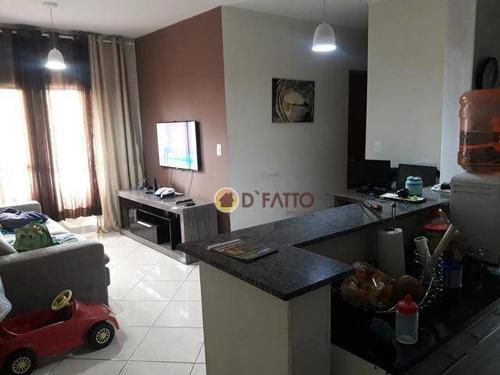 Apartamento Com 3 Dormitórios À Venda, 68 M² Por R$ 292.000,00 - Vila Galvão - Guarulhos/sp - Ap1940